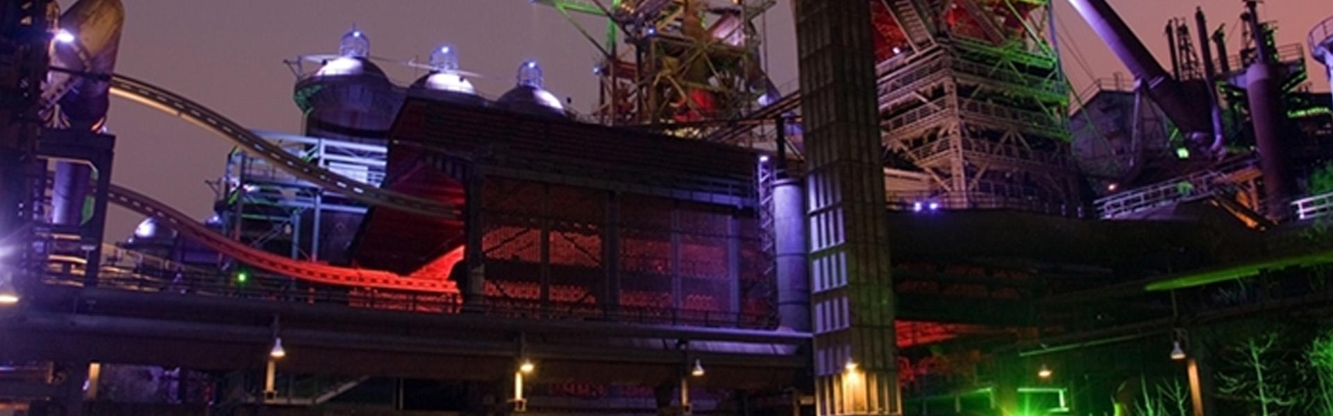 Hocheffiziente LED Beleuchtung für die Industrie